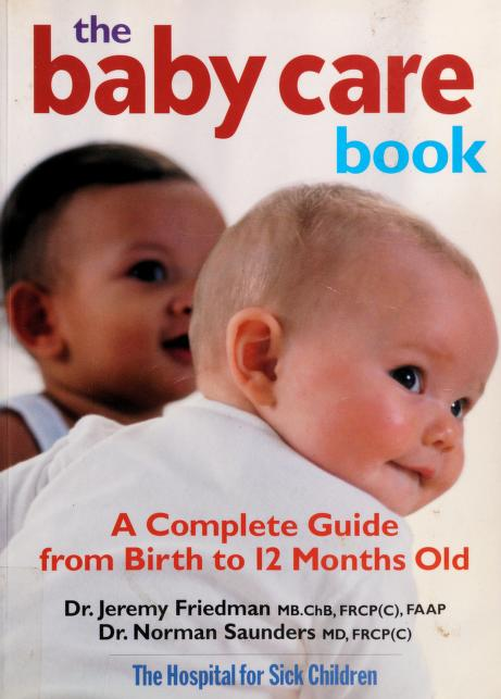 The baby care book by Jeremy N. Friedman