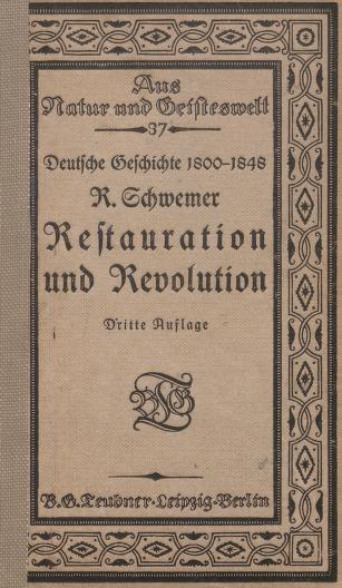 Cover of: Restauration und Revolution : Skizzen zur Entwicklungsgeschichte der deutschen Einheit |
