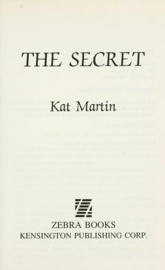 Cover of: The secret | Kat Martin